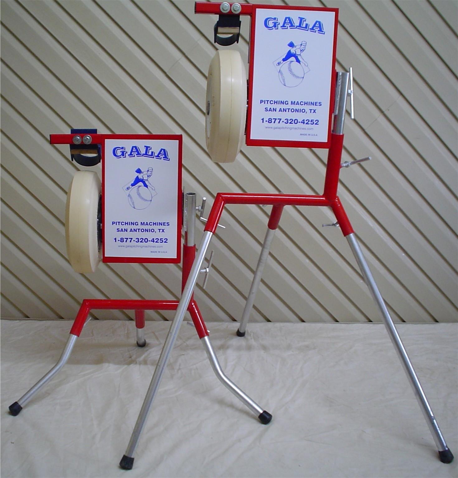 single wheel pitching machine
